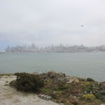 Vue sur la ville depuis Alcatraz